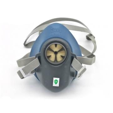 3M 半面罩,HF-52,硅胶材质 中大号