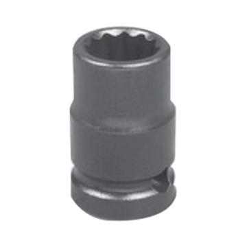 """霹雳马1/2""""方头10mm 公制标准型十二角套筒, 63825010"""
