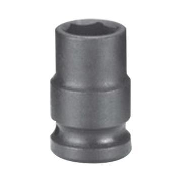 """霹雳马3/8""""方头12mm 公制标准型六角套筒, 61110012"""