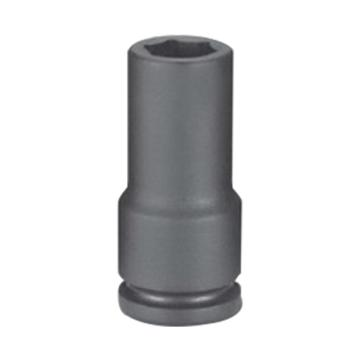 """霹雳马1/2""""方头19mm 公制加长型六角套筒, 60522019"""