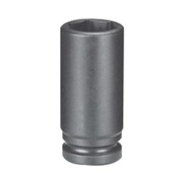 """霹雳马3/8""""方头18mm 公制加长型六角套筒, 60512018"""
