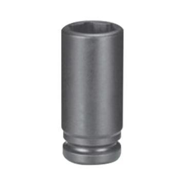 """霹雳马1/4""""方头8mm 公制加长型六角套筒, 60502080"""