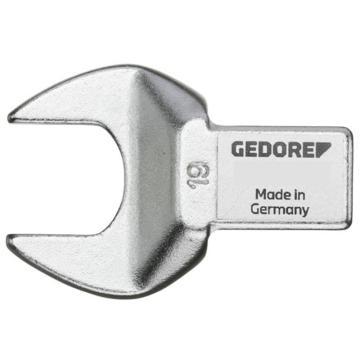 吉多瑞扭力扳手头,方形开口,接口14x18mm,开口头18mm,7118-18