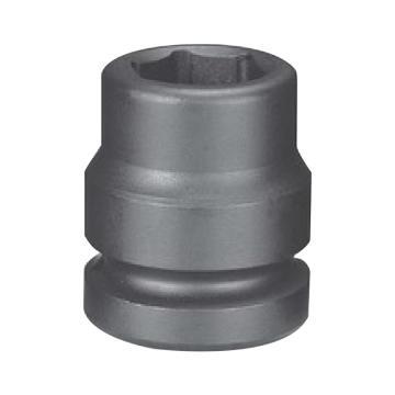 """霹雳马1""""方头52mm 公制标准型六角套筒, 60150052"""