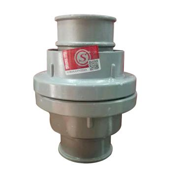 雨花 内扣式水带接口,50mm口径,2个/付