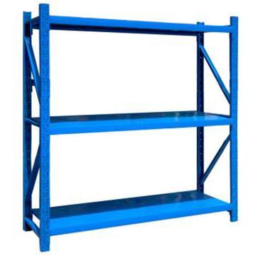 云洁中型货架主架,2000*600*2000(三层,200KG)蓝色,安装费请另询价