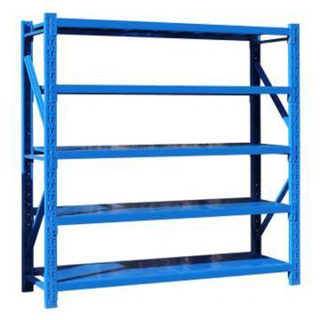 云洁中型货架主架,1200*600*1800(五层,200KG,)蓝色,安装费请另询价