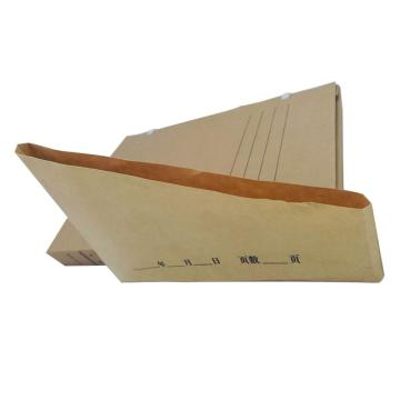 梯形檔案專用無酸紙袋,6*21.5*21.5*7cm