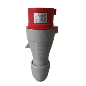 罗格朗 连接插头,IP44 380V 16A 3P+N+E,555129