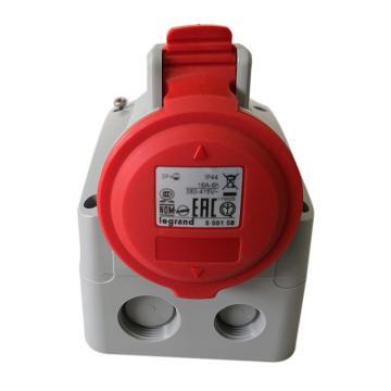 罗格朗 明装插座,IP44 380V 16A 3P+E,555158