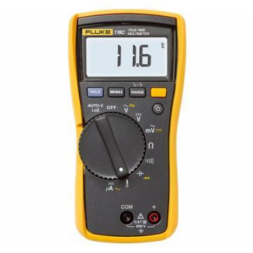 福祿克/FLUKE 數字萬用表,溫度及微安電流測量,FLUKE-116CHVAC
