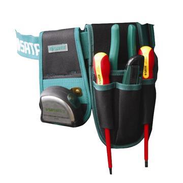 世达工具包,4袋式腰包 (图片为效果图,实物不含图片中的工具和腰带),95211