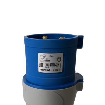 罗格朗 连接插头,IP44 230V 32A 2P+E,555234