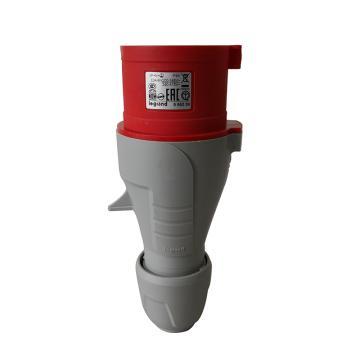 罗格朗 连接插头,IP44 380V 32A 3P+N+E,555239