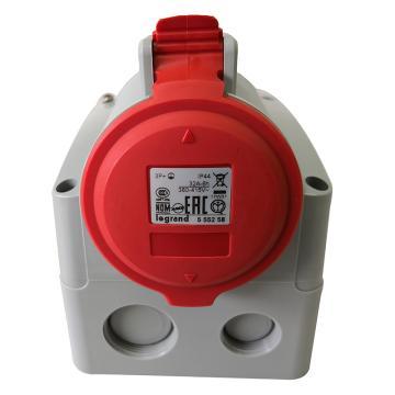 罗格朗Legrand 明装插座,IP44 380V 32A 3P+E,555258