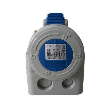罗格朗Legrand 明装插座,IP67 230V 16A 2P+E,555354