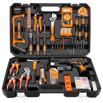 科麦斯12V锂电钻家用电钻家庭修理工具组套