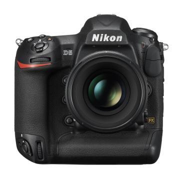 尼康(Nikon) D5单反数码照相机 专业级全画幅机身 旗舰单反 XQD版(含锂电池EN-EL18a 两块,XQD卡64G两个)