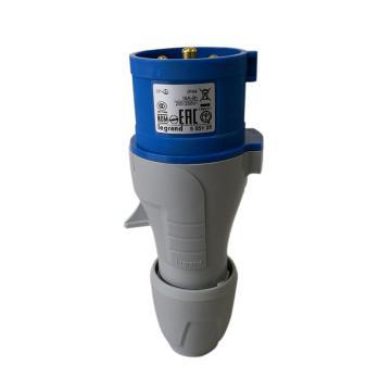 罗格朗 连接插头,IP44 230V 16A 3P+E,555125