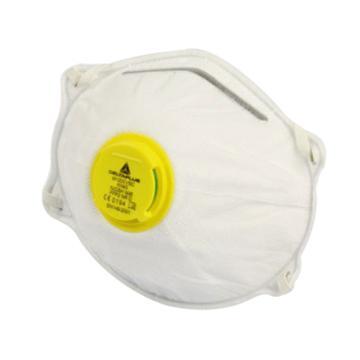 代爾塔DELTAPLUS 防塵口罩,104016,免保養P2帶閥口罩,10個/盒