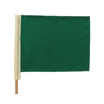 铁路信号旗,绿 带杆