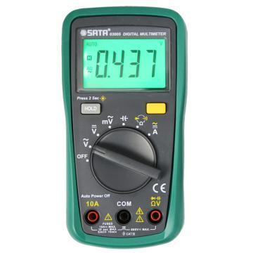 世达/SATA 万用表,掌上型,03005