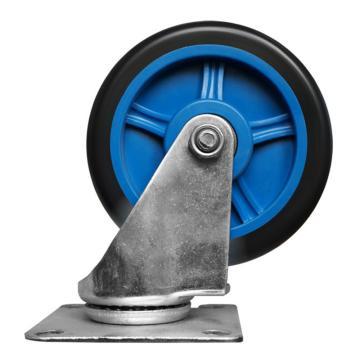 """连和 手推车用万向脚轮,4""""(微静轮) 150/200kg,150/200kg 手推车用万向脚轮 4""""(微静轮)"""