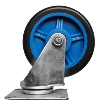 """连和 手推车用万向脚轮,5""""(微静轮)250/300kg,250/300kg 手推车用万向脚轮 5""""(微静轮)"""
