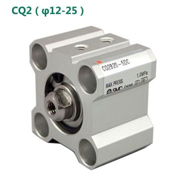 SMC 薄型气缸,单杆双作用,CDQ2B32-35DZ-M9BL