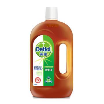 滴露(Dettol )消毒液,750ml/瓶 12瓶/箱 单位:瓶