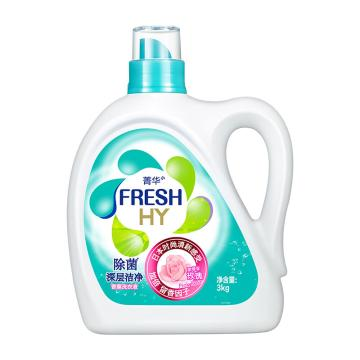 威露士Walch 菁华洗衣液,索菲亚玫瑰 3kg 单位:瓶