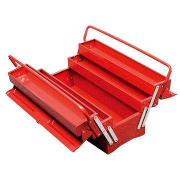 天狼 便携式工具箱(双把手外翻式),红色 495*200*295mm,NTBC122(库存售完即止)