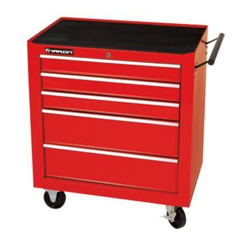 天狼 五抽工具柜,红色 680*435*780mm,TBR2005D(库存有限 售完即止)