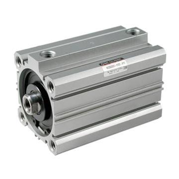 SMC 双作用薄型气缸,带缓冲垫,CQ2B125-125DCZ