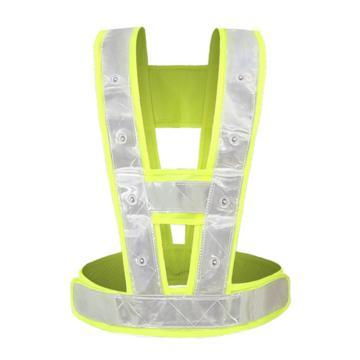 佳护 V型LED带灯反光马甲反光背心(仅限广东)
