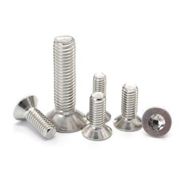 法思特 GB2673梅花沉头机螺钉,M2-0.4X4,不锈钢304,洗白,6500个/袋