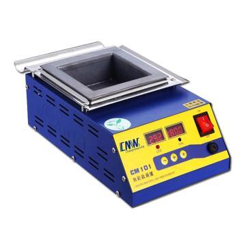 创美威 调温锡锅/方形无铅锡炉,0-600℃,方槽100*100*45mm,CM-101
