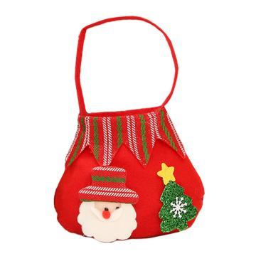 苹果袋,手提袋苹果袋-红色老人