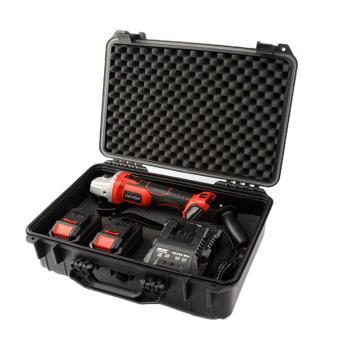 大有 100mm锂电无刷角磨机套装,两电一充 20V/5.2Ah,2903-LI-20AG100/N