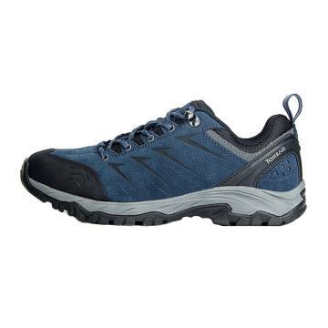 探路者户外工作男鞋,藏蓝/摩洛哥蓝,42