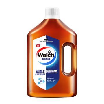 威露士Walch 衣物家居消毒液,3L/瓶 4瓶/箱 单位:瓶