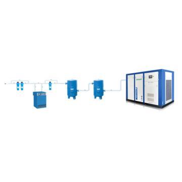 空压机保养(空气过滤器+水过滤器的更换)