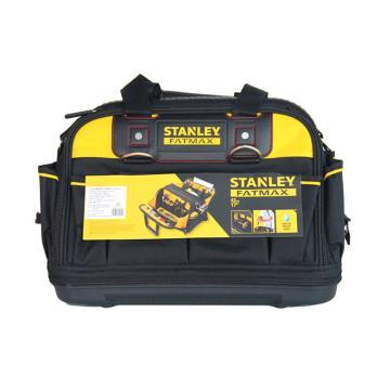 """史丹利STANLEY 硬底双开工具提包拉杆工具箱硬底双开工具包电脑工具包,17"""",430mm,FMST517180-23"""