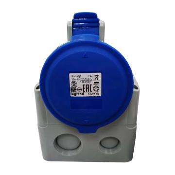 罗格朗Legrand 明装插座,IP44 230V 32A 3P+N+E,555256