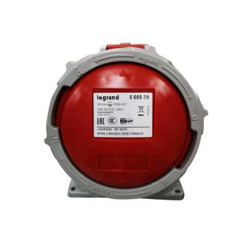 罗格朗 明装插座,IP 66/67 AC 380/415V 63A 3P+N+E,555559