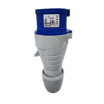 罗格朗 连接插头,IP44 230V 16A 3P+N+E,555126