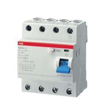 ABB 漏电断路器,F204 AC-40/0.03