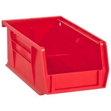 DURHAM MFG HOOK-ON BINS红色零件盒,102 x 178 x 76mm,承重4.5kg