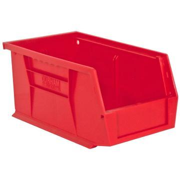 DURHAM MFG HOOK-ON BINS红色零件盒,152 x 279 x 127mm,承重13.6kg