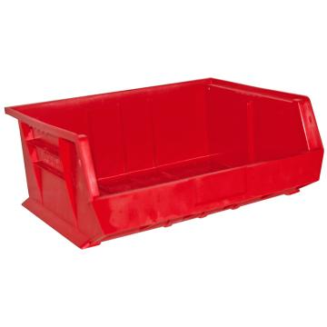 DURHAM MFG HOOK-ON BINS红色零件盒,406 x 381 x 178mm,承重34kg